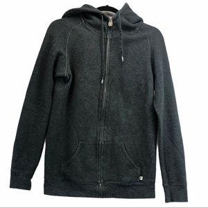 Aritzia TNA Grey long zip hoodie